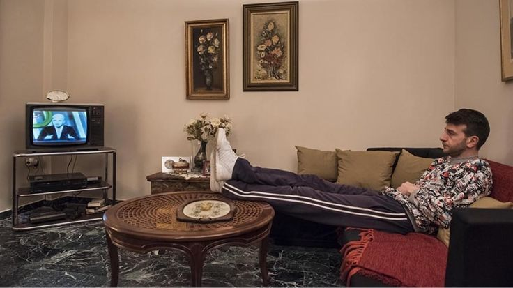"""Ένα από τα πιο συζητημένα και αγαπημένα περίπτερα της έκθεσης GR80s. Η Ελλάδα του Ογδόντα στην Τεχνόπολη είναι το διαμέρισμα του 1987. Μία """"βουτιά"""" στο παρελθόν!"""