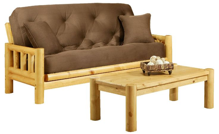 Tahoe Log Queen Futon Frame at HOM Furniture | Furniture Stores in Minneapolis Minnesota & Midwest