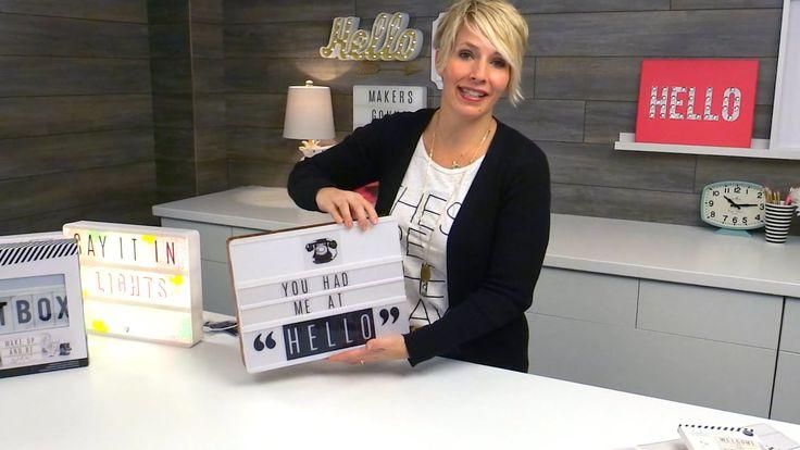 #1 WANT of 2016 Heidi Swapp: Lightbox Intro