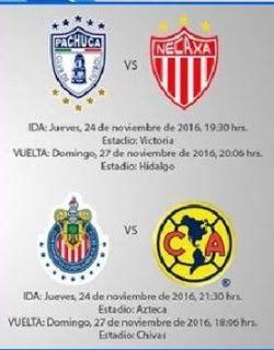 Blog de palma2mex : Liga MX – Liguilla: PACHUCA VS NECAXA Y AMERICA VS...