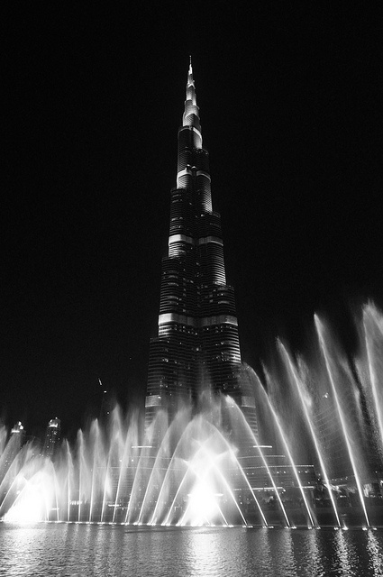The world's tallest building is the 829.8 m (2,722 ft) tall Burj Khalifa in Dubai, United Arab Emirates.