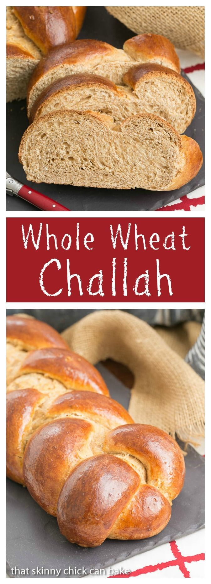Whole Wheat Challah | Eggy, tender with the bonus of whole wheat! @ ...