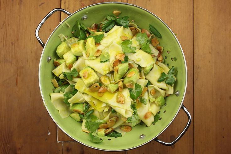 Avocado, Ginger and Almond Pasta with Coriander - Maggie Beer