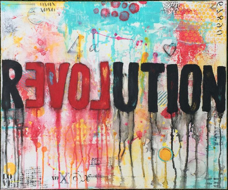 It's Time for a Love Revolution by Chasity Heck