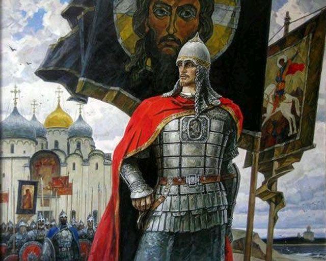The Grand Duke Alexander Nevsky - Александр Ярославич Невский