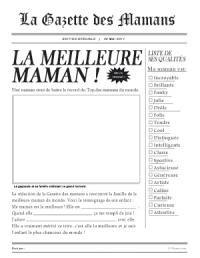 La Gazette des Mamans