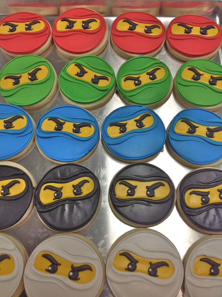 Ninjago Cookies! - HayleyCakes And Cookies