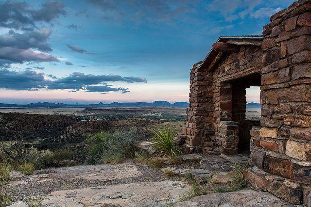 Davis Mountains Overlook - Fort Davis, Texas
