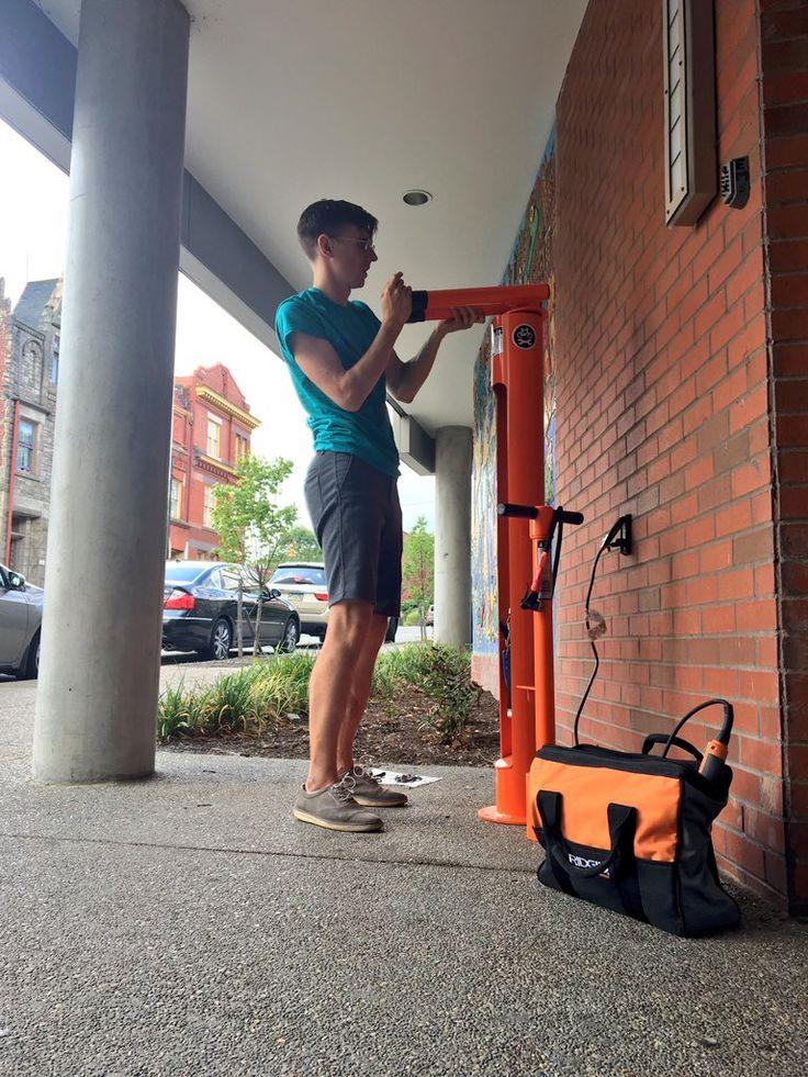 1000 Images About Dero Fixit Public Bike Repair Station