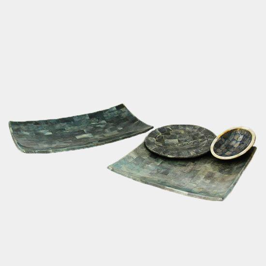 Plate | Terbuat dari batu koral biru