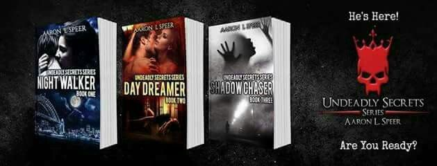 Undeadly Secrets Series by Aaron L Speer  Shadow Chaser (Book 3): http://mybook.to/ShdwChsrAS  **Intended for 18+. Some scenes may be too intense for some readers.**