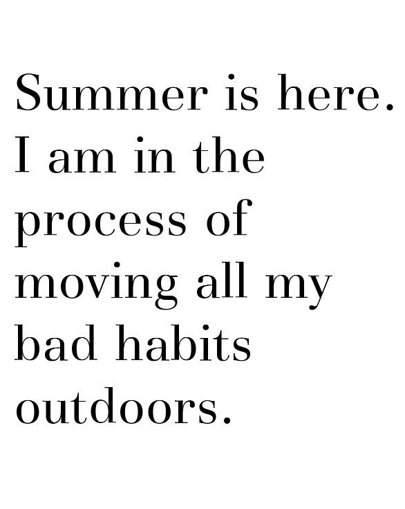 Summer's (almost) here!