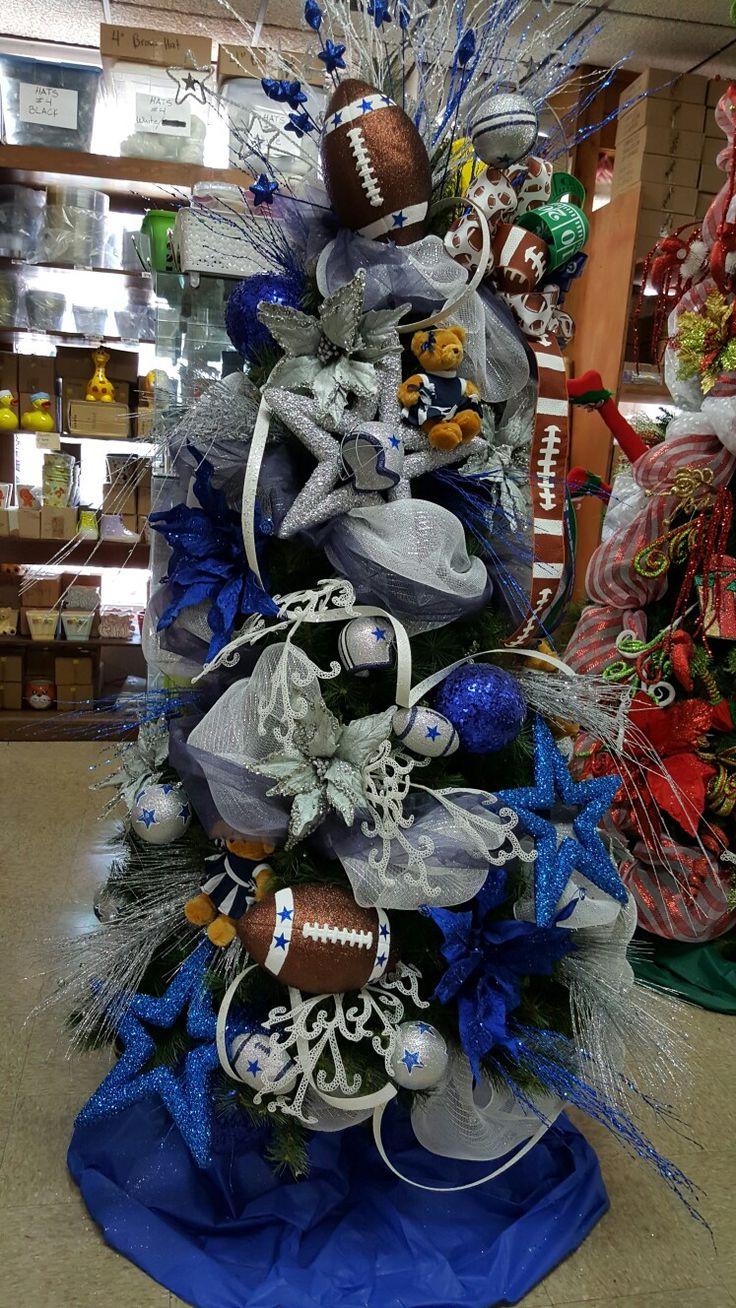 ⭐ Dallas Cowboys Christmas Tree ⭐
