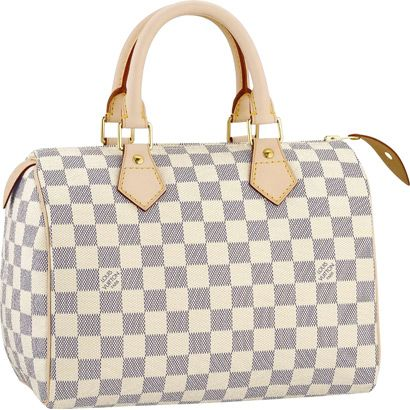 Louis Vuitton Speedy 25 Damier Azur Canvas N41534