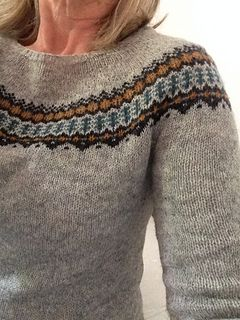 TheoniePoilderat's project of  Ingrid Pullover by Isabell Kraemer