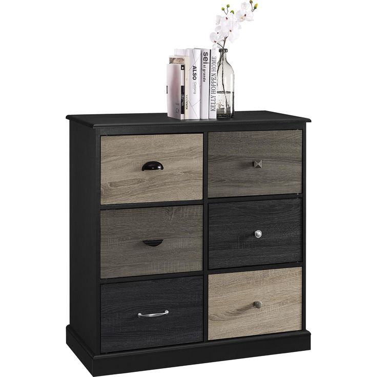Altra Furniture Blackburn 6 Cube Storage Unit