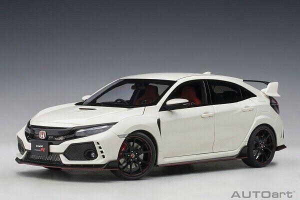Autoart 73266 1 18 Honda Civic Type R Fk 8 Championship White 2017 Neu Honda Civic Type R Honda Civic Car Model
