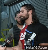 "reignsandrollins: ""seth has a beer on ice for roman, no worries. """