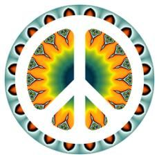 all you need is love hippie art images | Hippie Symbols Posters & Prints | Poster Designs & Templates ...