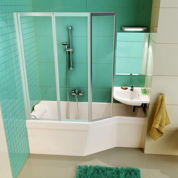 Ravak BeHappy - Wanny do mikro łazienek!