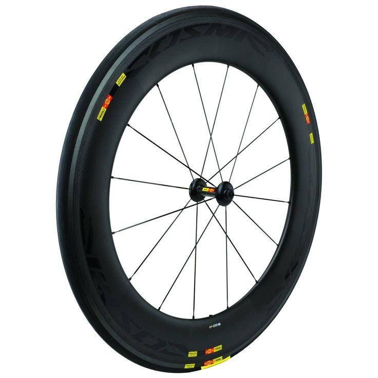 Mavic Road Race TT Bike Carbon SSC Cosmic CXR80 700c Tubular Front Wheel 725g