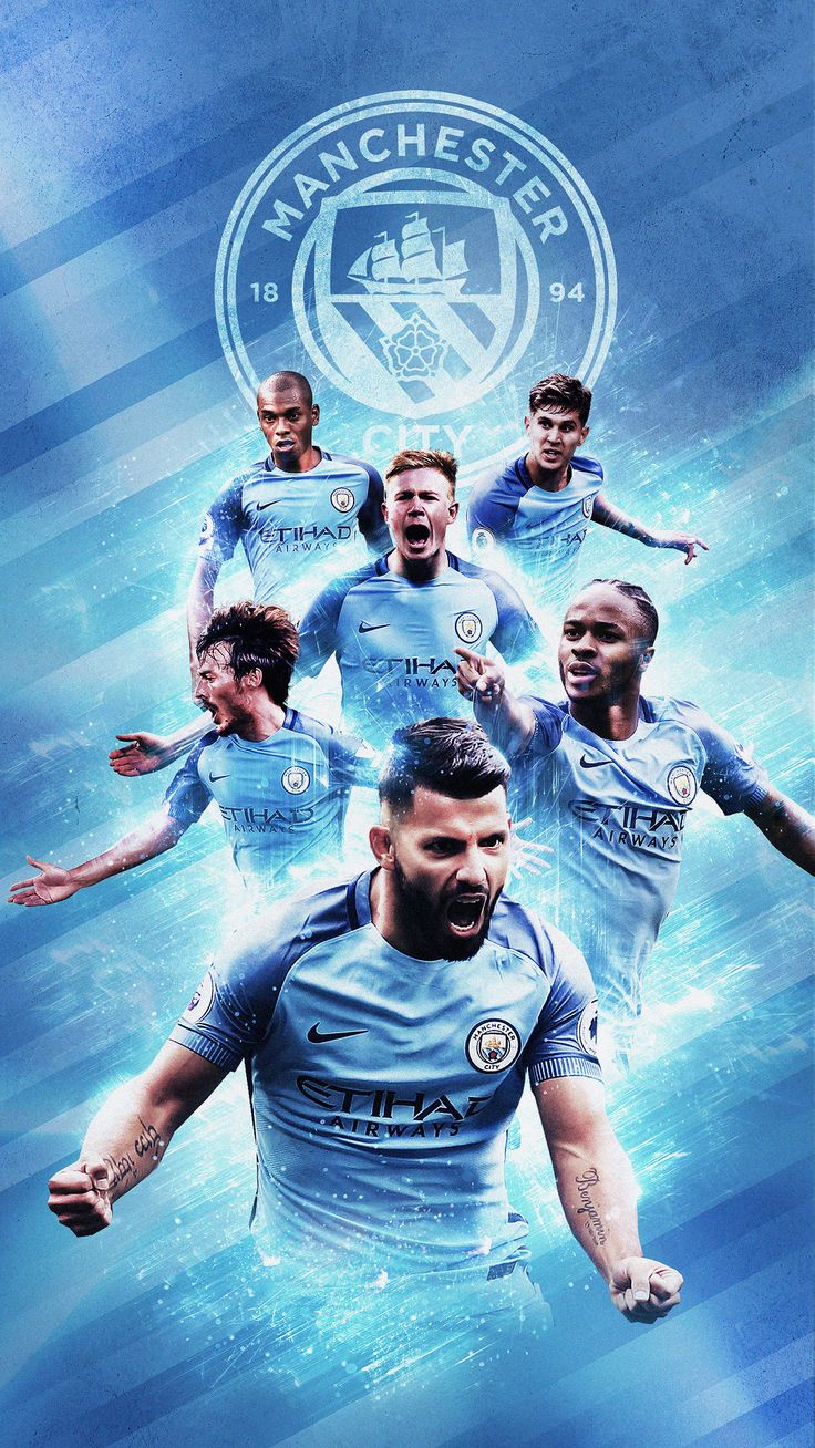 Football Mobile Wallpapers on Behance   Manchester city ...