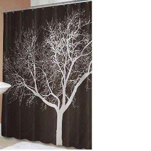 "Tree Shower Curtain - Chocolate (70x72"")"