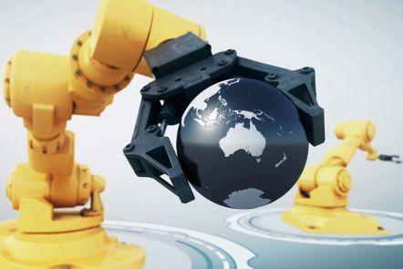 Robotics with video link