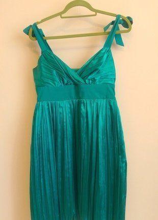 Kup mój przedmiot na #vintedpl http://www.vinted.pl/damska-odziez/sukienki-wieczorowe/17917586-zielona-plisowana-sukienka-koktajlowa-bb-studio