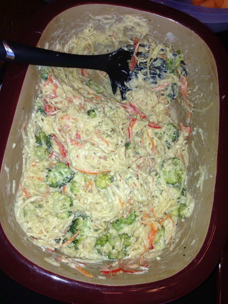 Pasta Primavera in the Deep Covered Baker!!! So easy and extremely yummy!