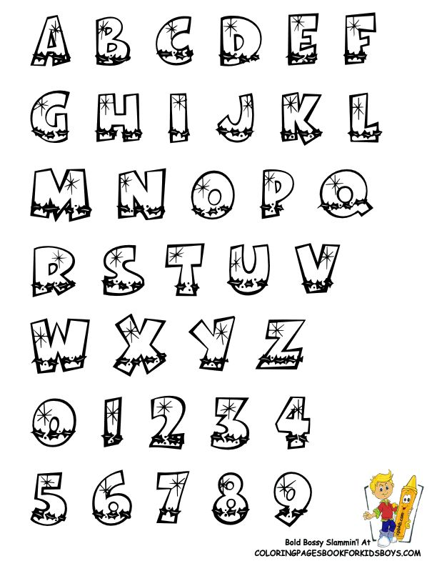 Printable Christmas Alphabet Coloring Pages Alphabets Chart To Print