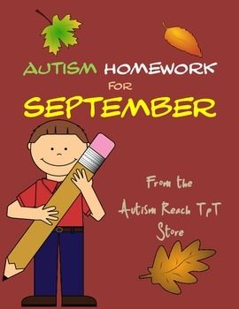 Homework Issues In Autism
