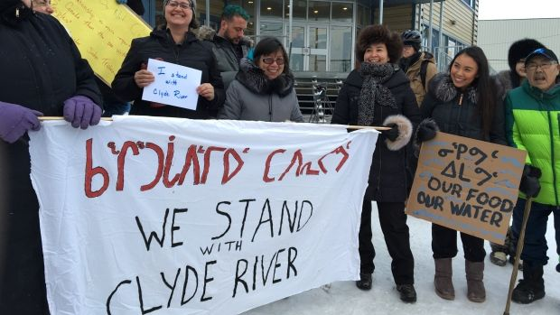 Protesters in Ottawa and parts of Nunavut looked to Canada's highest court last year, when Clyde River argued a case that could better define the country's constitutional duty to consult with Indigenous groups.