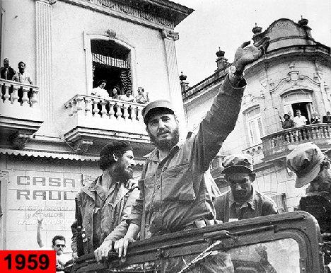 1959. Castro assumed power.