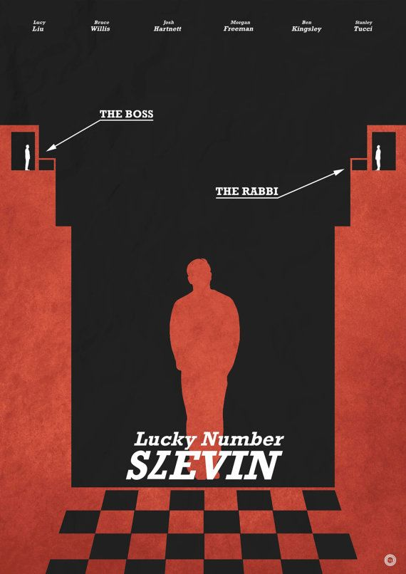 Lucky Number Slevin Poster by holdonprints on Etsy