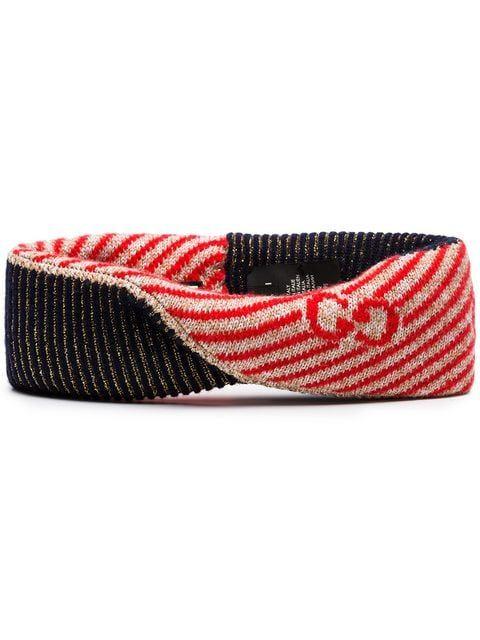 880bc1a6e63 Gucci Multicoloured Knitted Glitter Headband - Farfetch