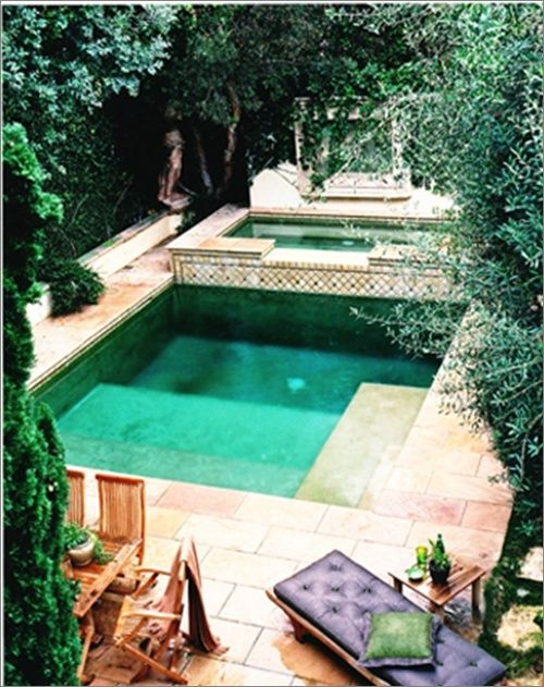 Omg, love this pool. Need a house first....followed by this pool.