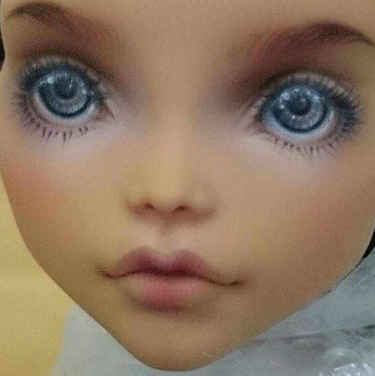 #монстерхай#ооакмонстерхай#ооак#мейкап##monsterhighooak#ooak#monsterhighcollection#repaintdolls#doll#monsterhigh