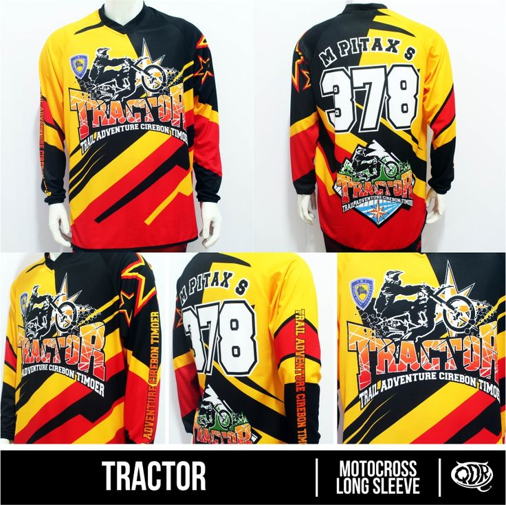 Offroad Jersey Tractor Sublimation Print  By. Qita design Dedek: 2605D224