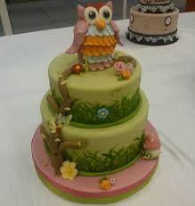 Risultati immagini per torte con gufi