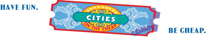 Cities on the Cheap...this is an amazing website, it tells you about events coming in your area, lets you compare gas prices to find the cheapest gas in your area (or an area you might be traveling to), and has freebies galore!