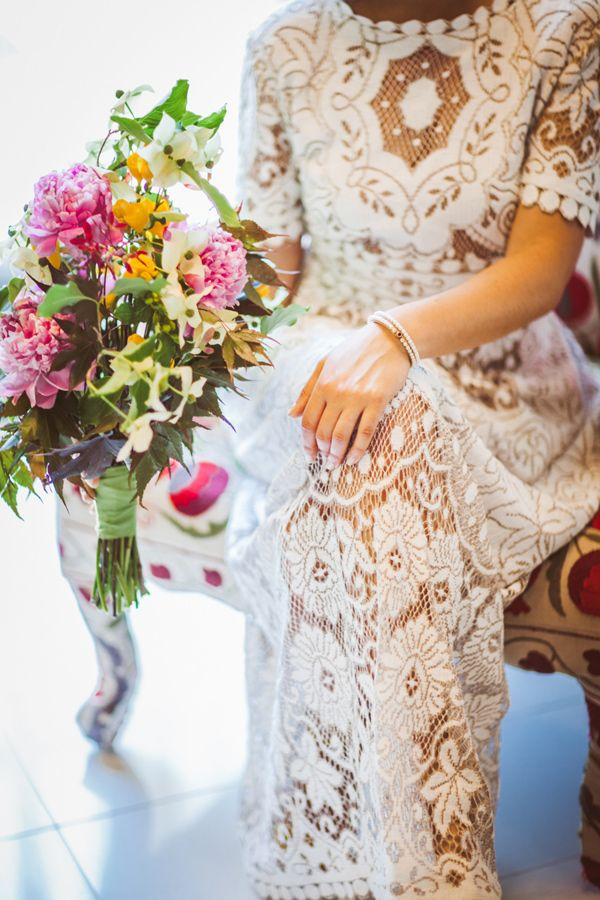 Boho Greenpoint Loft Wedding