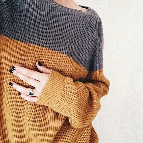 girl, sweater, and nails image