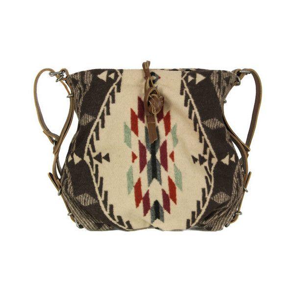Denim & Supply - Ralph Lauren Slim Navajo Jacquard Bag ($125) ❤ liked on Polyvore