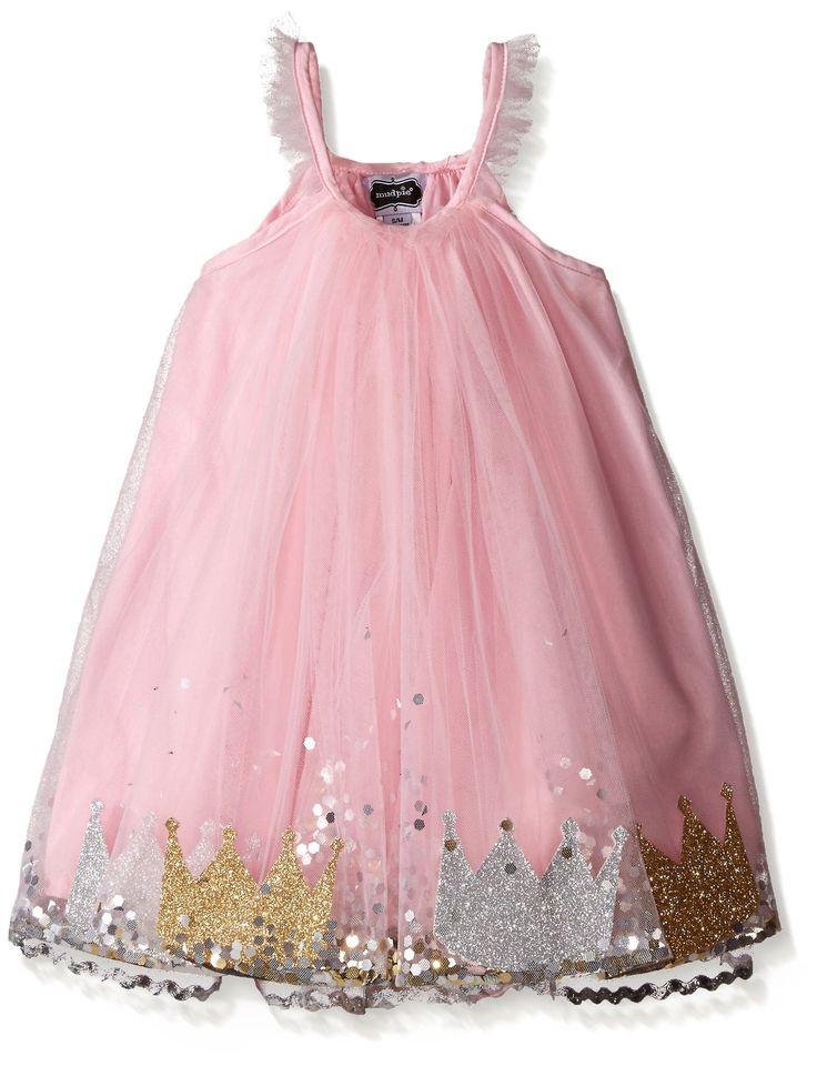 Amazon.com: Mud Pie Baby Girls' Pink Princess Dress: Clothing
