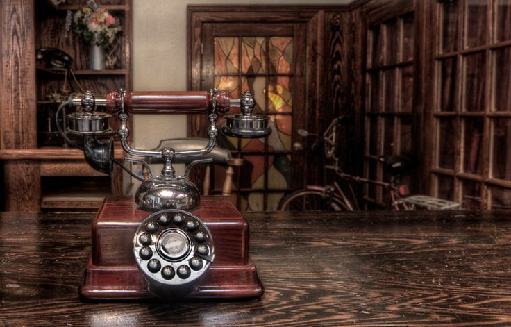 An old telephone at the historic Edgewater Hotel in Winter Garden