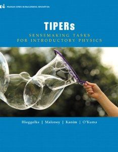 TIPERs: Sensemaking Tasks for Introductory Physics (Pearson Series in Educational Innovation: Student Resources for Physics): 9780132854580: Science & Mathematics Books @ Amazon.com
