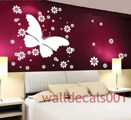 removable Vinyl Wall Decals Wall StickerButterfly by walldecals001, $28.00