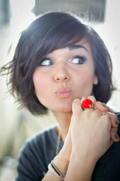 Outstanding 1000 Images About Cool Bobs On Pinterest Curly Bob Bobs And Short Hairstyles Gunalazisus