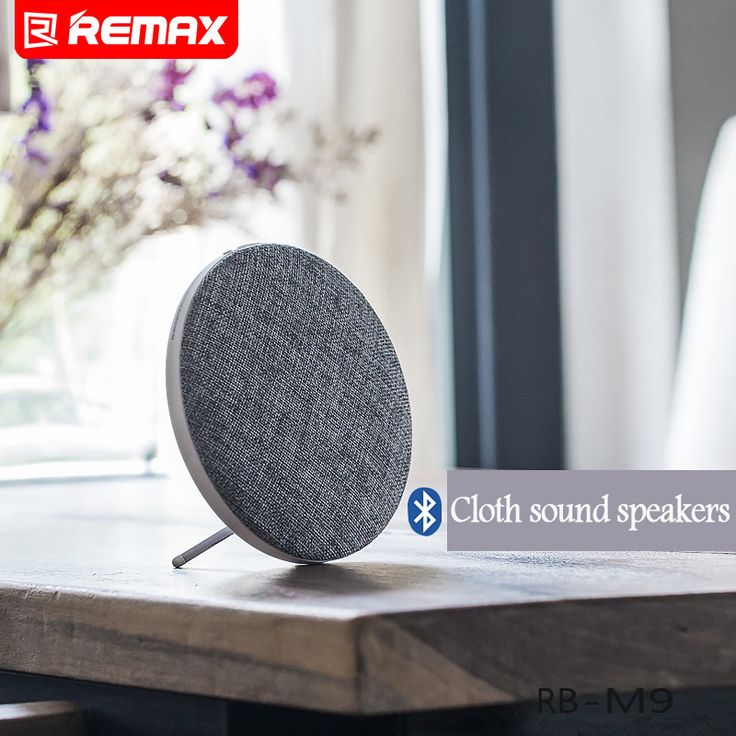 ==> [Free Shipping] Buy Best Original Loud Volume Blurtooth Speaker REMAX Portable Bluetooth V4.1 Wireless Speaker Music Player HIFI Cloth sound speakers Online with LOWEST Price | 32758270419